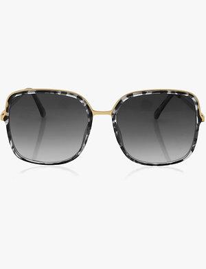Katie Loxton | Santorini Sunglasses Grey & Black