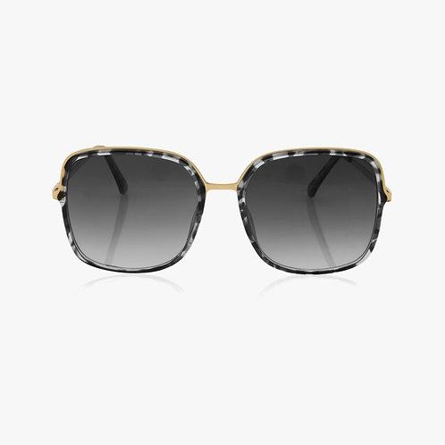 Katie Loxton   Santorini Sunglasses Grey & Black