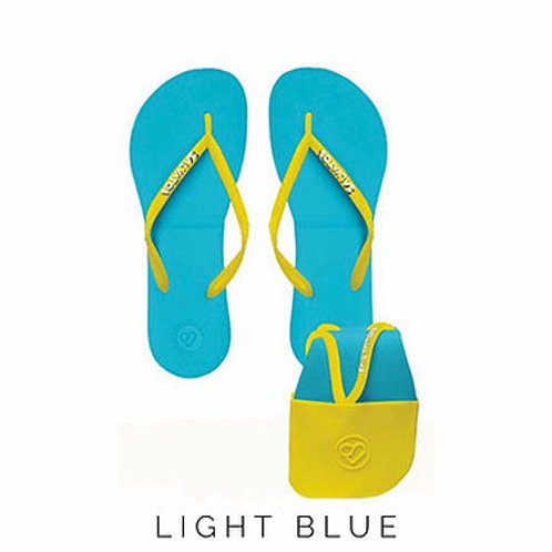 Foldable Flip Flops | Light Blue