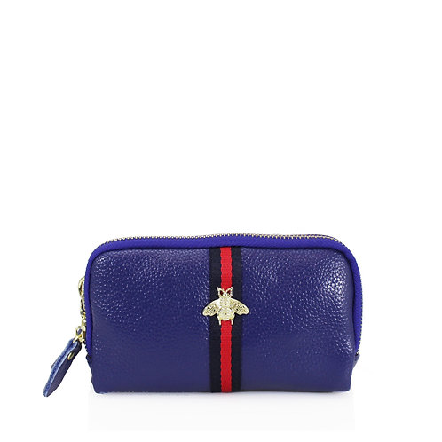 Wristlet Bee Purse | Blue