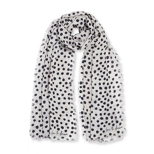 Katie Loxton Sentiment Scarf | Live To Dream