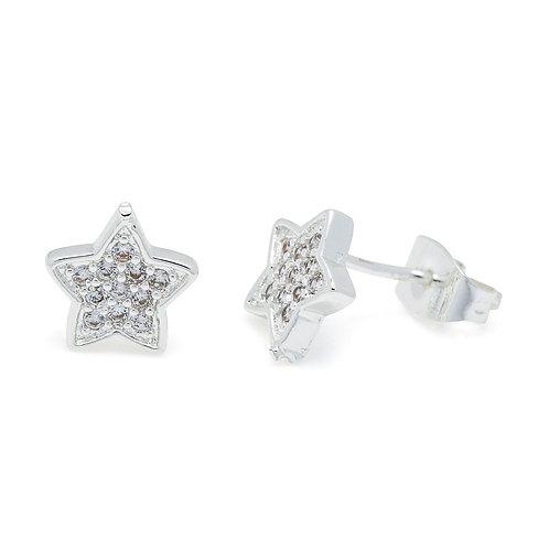Cubic Zirconia Stardust Earrings