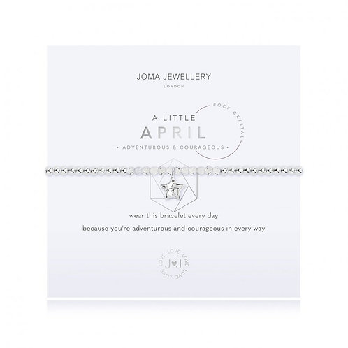 A Little April Birthstone Bracelet