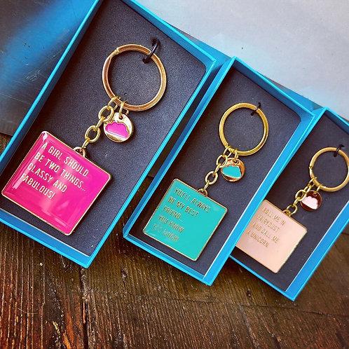 Cloud 9 Gift Boxed Keyring