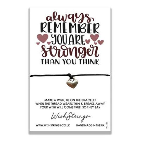 Wishstring Bracelet | Remember You're Stronger Than You Think