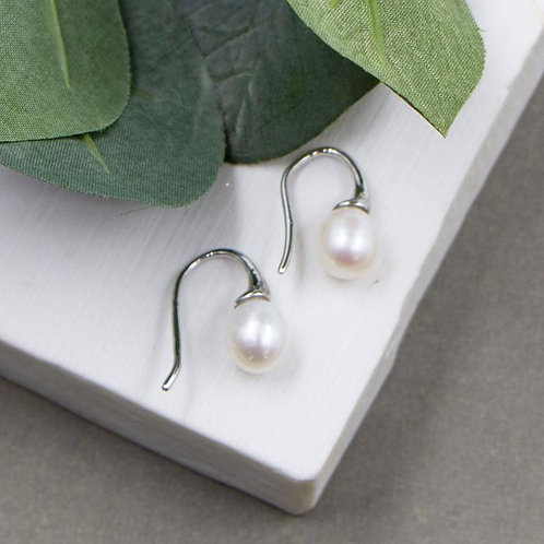 Classic Real Pearl Earrings