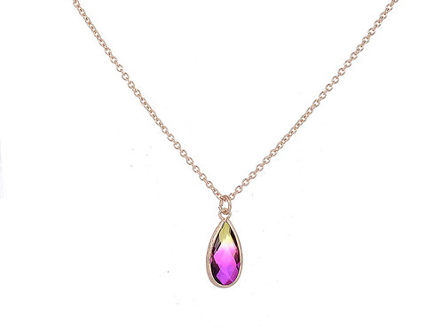Multi Tear Drop Necklace