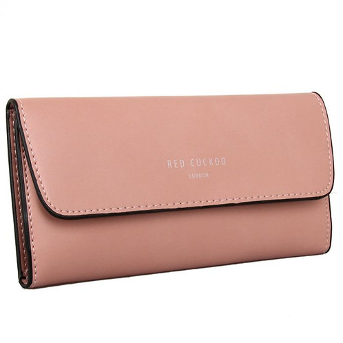 Pink Pastel Fold Over Purse
