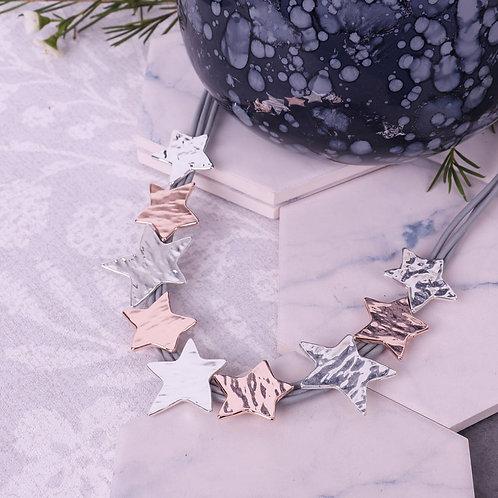 Multi Star Necklace