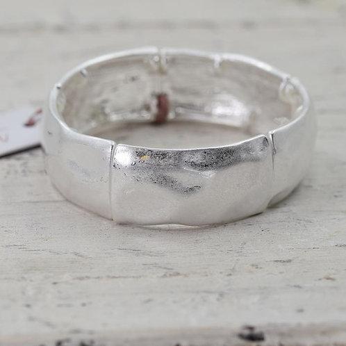 Statement Silver Bracelet