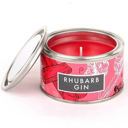 Rhubarb Gin Small Elements Candle
