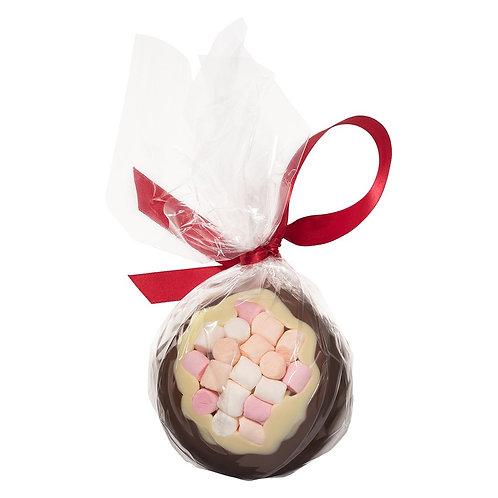 Milk Chocolate & Mini Marshmallow Christmas Bauble
