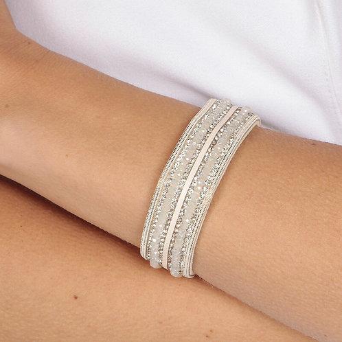 White Colour Wrap Bracelet