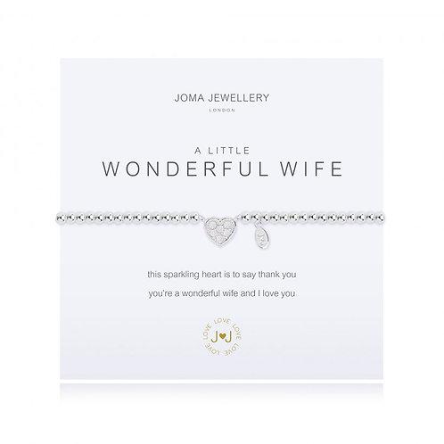 A Little Wonderful Wife Bracelet
