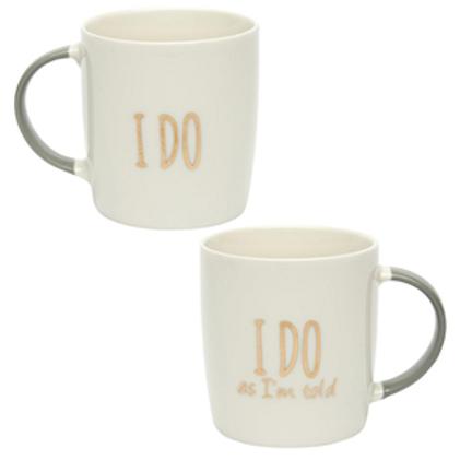 I Do, I Do As I'm Told Mug Set