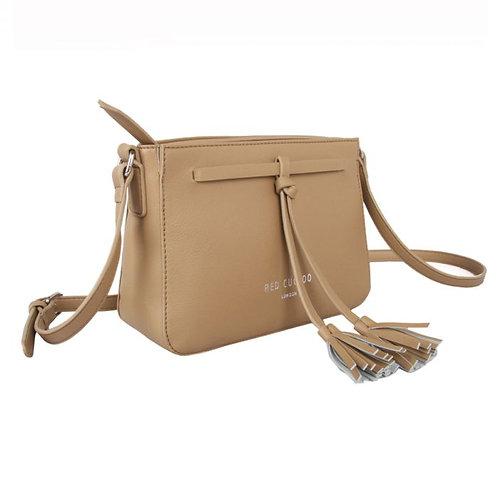 Taupe Cross Body Bag
