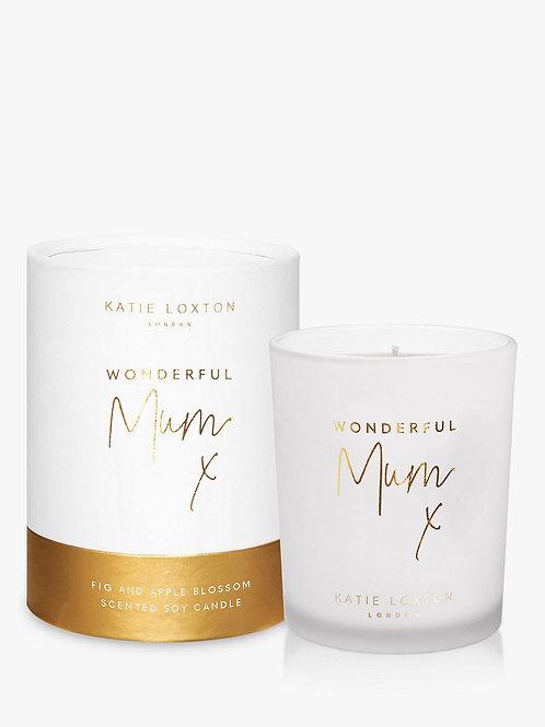 Katie Loxton Wonderful Mum Candle