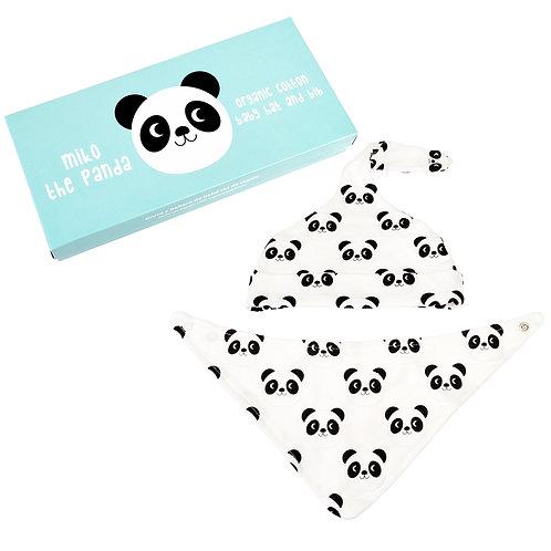 Cute Animal Bib Set | Panda
