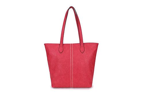 Red Shopper Handbag