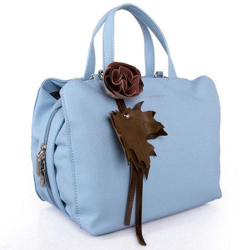 Red Cuckoo Sky Blue Shoulder Bag