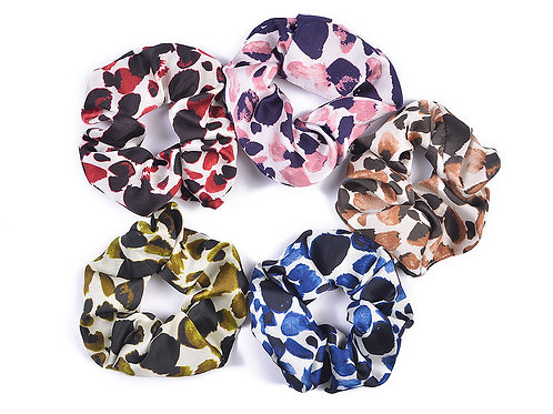 Abstract Dots Scrunchie