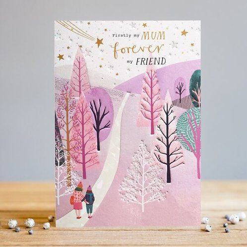 Mum & Friend Card