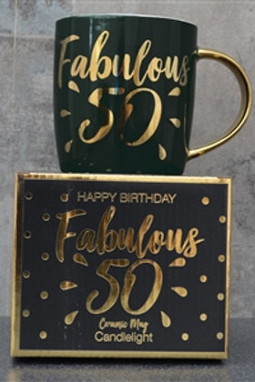 Fabulous 50 Ceramic Mug