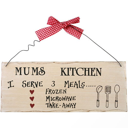 Mums Kitchen Hanging Sign