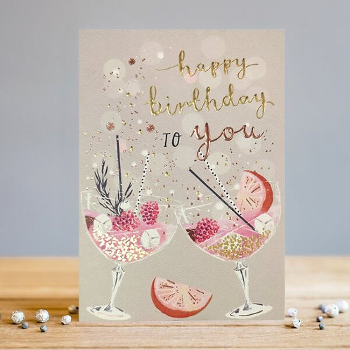 Birthday Drinks Card