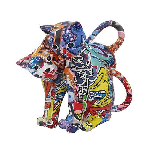 Graffiti Arts Cats Ornament