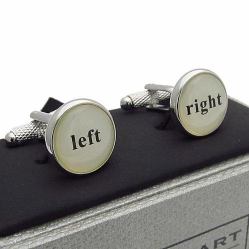 Left & Right Cufflinks