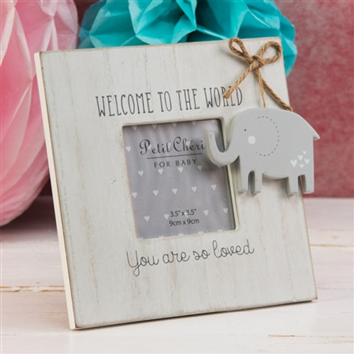 Petit Cheri Welcome To The World Photoframe
