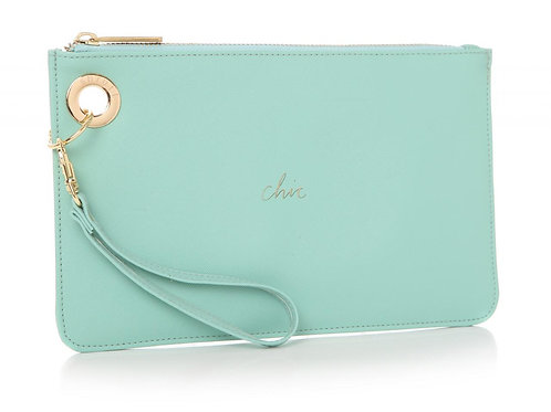 Teal Chic Clutch Bag