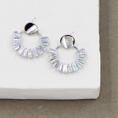 Baguette Crystal Earrings