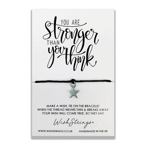 Wishstring Bracelet | Stronger Than You Think