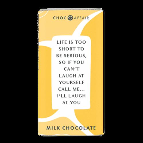 Chocolate Message Bar | Life