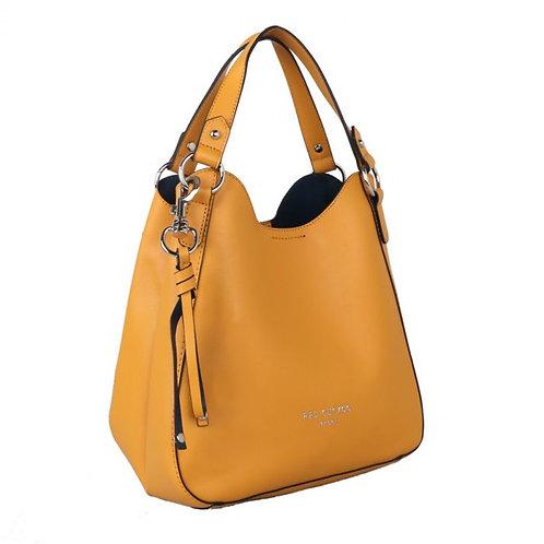 Red Cuckoo Key Chain Tassel Bag