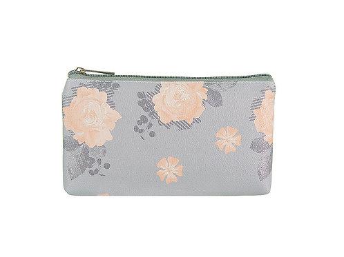 Lilac Scattered Floral Make Up Bag