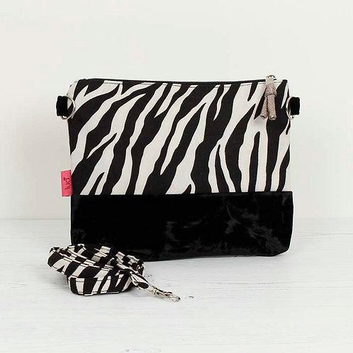 Star Zebra Mini Crossbody Bag