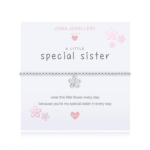 Children's A Little Sister Bracelet