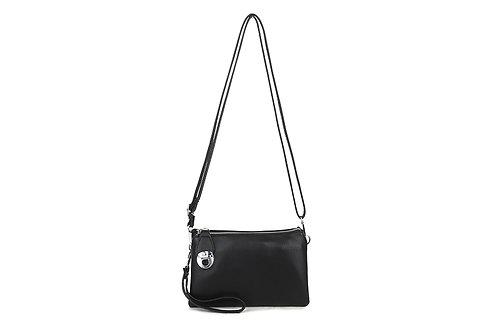 2 In 1 Crossbody Bag Black