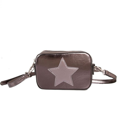 Red Cuckoo Metallic Star Bag