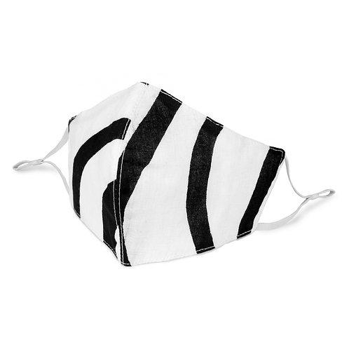 Face Mask | Monochrome Stripe