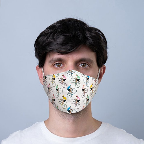 Adult Cycle Print Face Mask