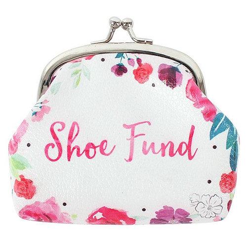 Floral Fusion Shoe Fund Purse