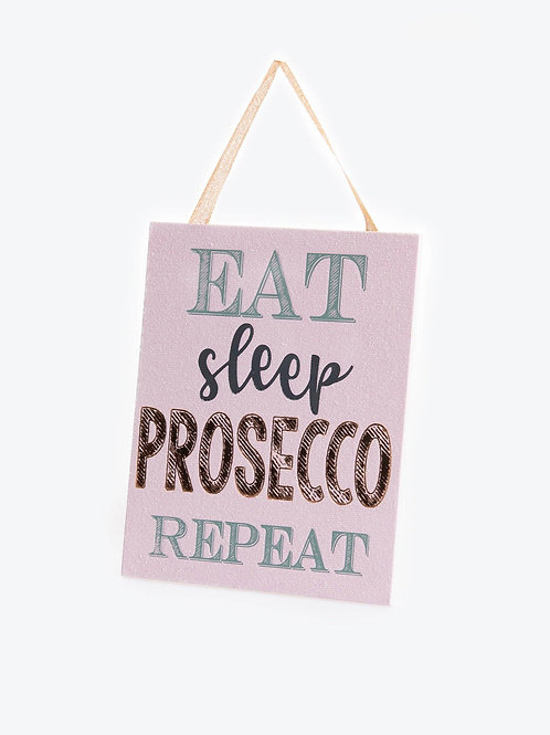 Candlelight Prosecco Sign