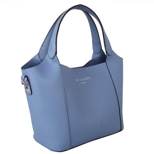 Red Cuckoo Denim Medium Grab Bag