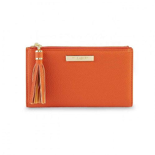 Katie Loxton Fold Out Tassel Purse   Burnt Orange