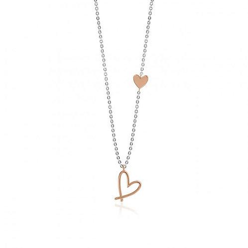 JJ Florrie Heart Necklace