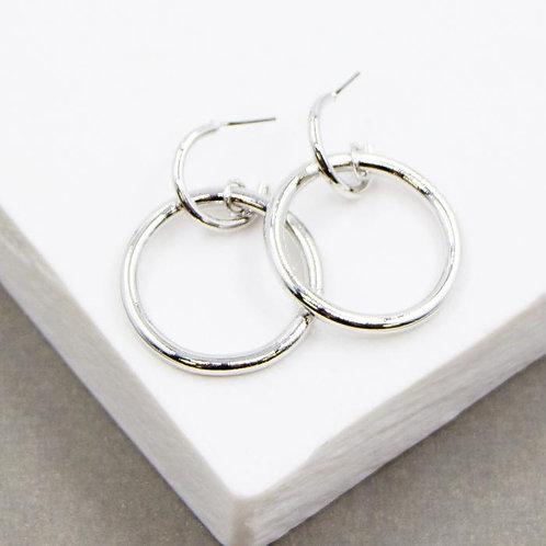 Simple Plain Circle Earrings
